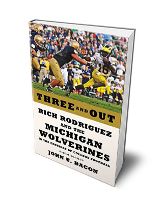 Three and Out Book Cover
